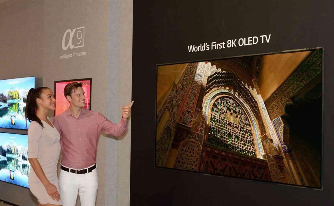 LG apresenta a primeira TV OLED 8K do mundo na IFA 2018 2