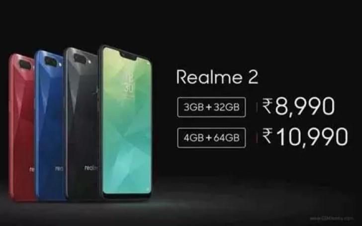 Oppo Realme 2 já chegou com maior ecrã e bateria com dupla câmara image