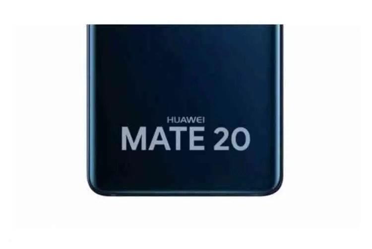 Painel frontal do Huawei Mate 20, revela um entalhe e avançado reconhecimento facial 3D 4