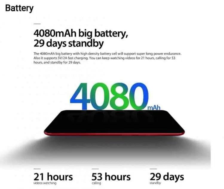 Vernee T3 Pro com 4080mAh, ecrã inteiro e Android 8.1 começa a pré-venda por US $ 79,99 3