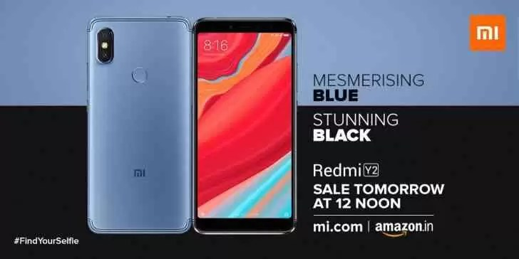 Xiaomi Redmi Y2 ou Xiaomi Redmi S2 chega em azul e preto 1
