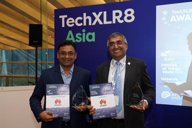 Huawei conquista 5G Telecom Service Innovation e IoT Leadership Awards no TechXLR8 Asia Awards 2018 1