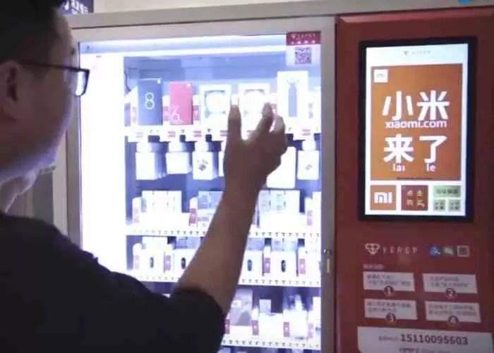 Comprar produtos Xiaomi numa máquina de venda automática? Na China podemos, é assim que funciona! 1