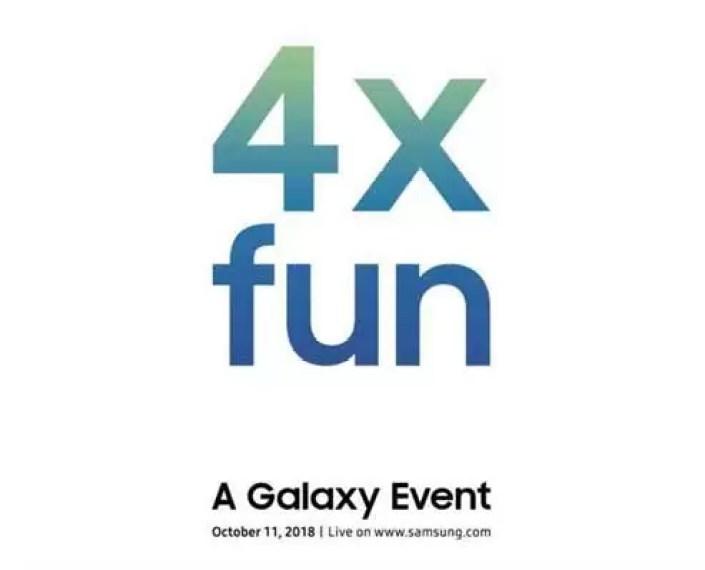 O Galaxy A9 Star Pro com quatro câmaras pode ser anunciado em 11 de outubro 2