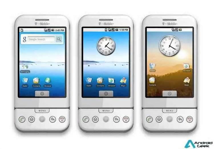 Celebrar o Android. Imagens, vídeos e curiosidades da primeira versão 2