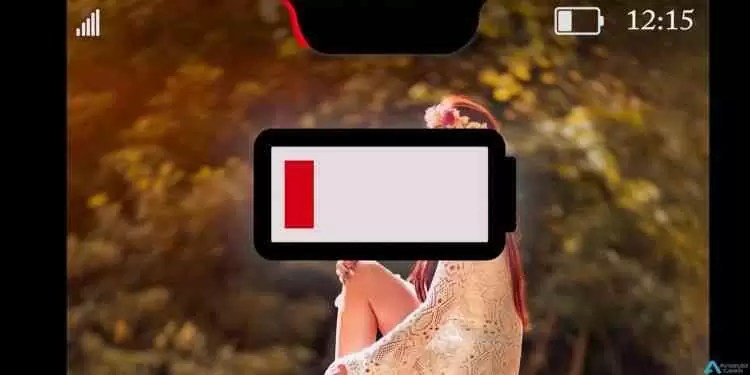 Entalhe do Huawei P20 e OnePlus 6 pode ser usado como indicador de bateria 2
