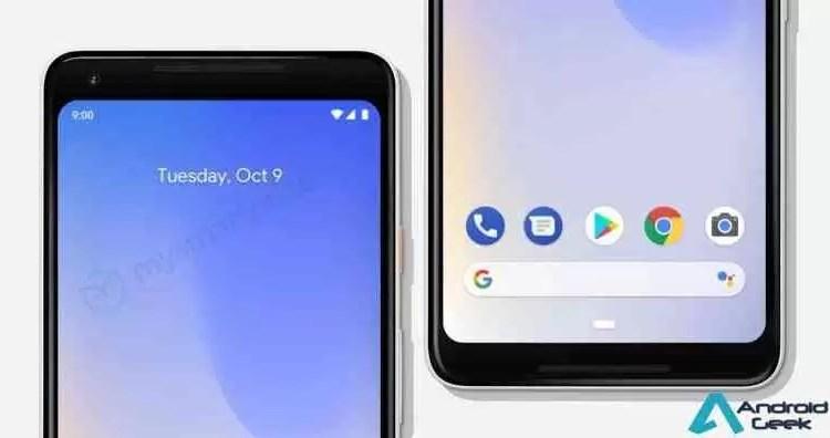 Google Pixel 3, Pixel 3 XL em fuga de informação de imagens e vídeos de marketing 11