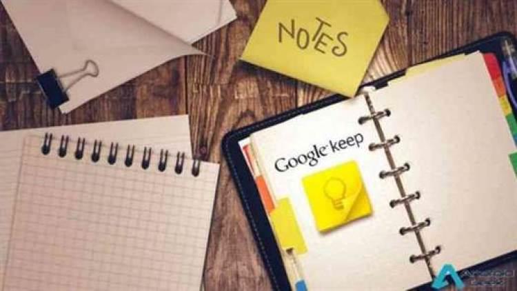 O Google Keep agora é chamado de Keep Notes 1