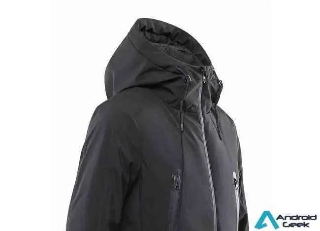 Última novidade Xiaomi é um casaco com aquecimento integrado e certificação IPX7 por US $ 79 1