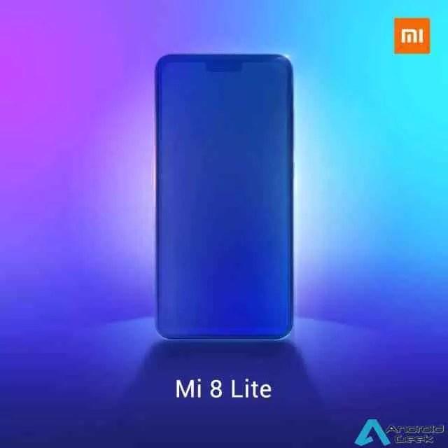 Xiaomi lança o primeiro teaser para a apresentação Global do Mi 8 Lite 1