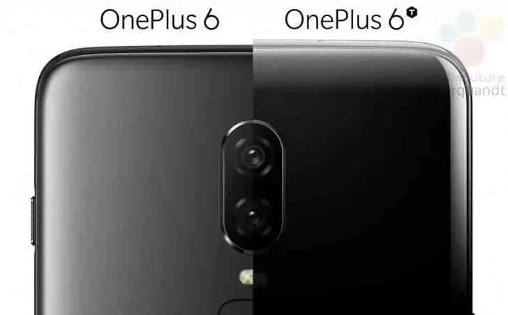 Imagens de imprensa OnePlus 6T revelam tudo sobre design, entalhe revelado 1