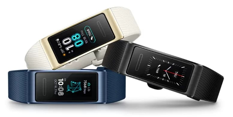 Huawei Band 3 Pro Colors