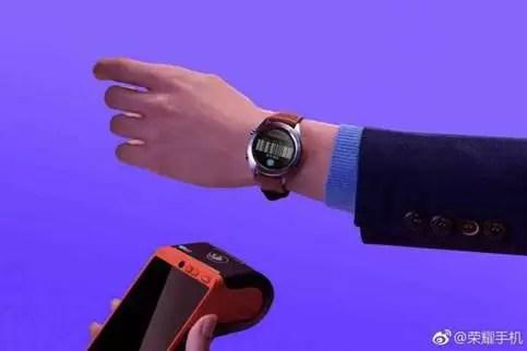 imagem de promo de relógio de Honor