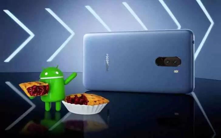 Xiaomi Pocophone F1 começa a receber o beta do Android Pie 1