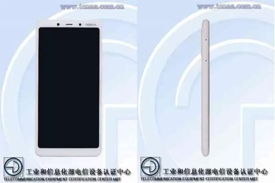 Imagens do Nokia TA-1117 surgem na TENAA 1