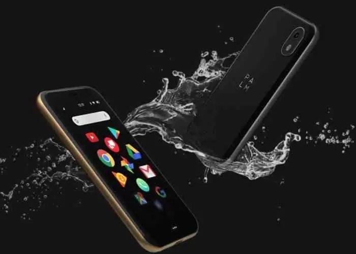 """Palm regressa em """"grande"""" com um pequeno Android de 3 polegadas 2"""