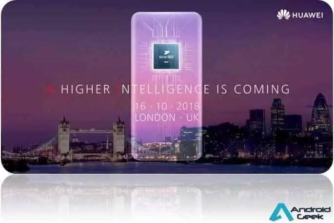 A Huawei convida a verem o lançamento do Mate 20 Pro em directo (Link Aqui) 1