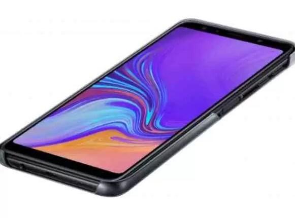 Capas Samsung Galaxy J4 +, J6 + e A7 (2018) com acabamento gradiente em fuga de informação 7