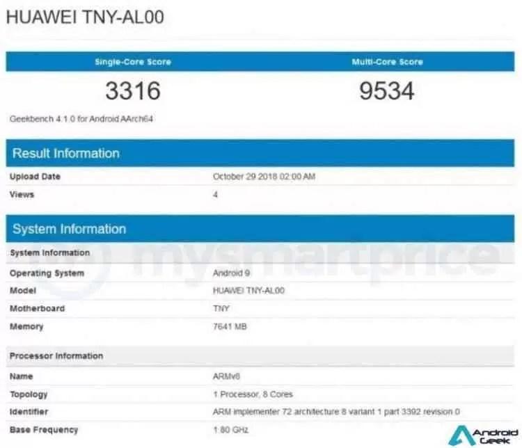 Honor Magic 2 é testado com chip Kirin 980 de 7nm e 8GB de RAM 2