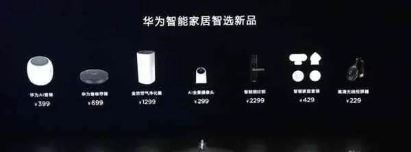 A Huawei lançou uma infinidade de dispositivos domésticos inteligentes na conferência da série Mate 20 em Xangai 1
