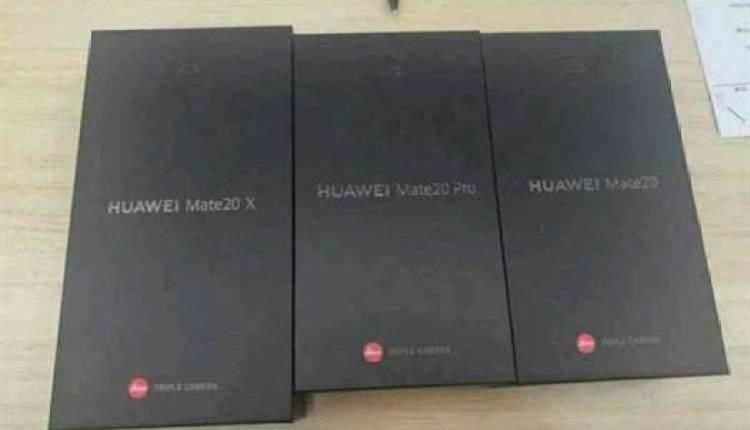 Huawei Mate 20, Mate 20 Pro e Mate 20 X são comparados em fuga de informação 4