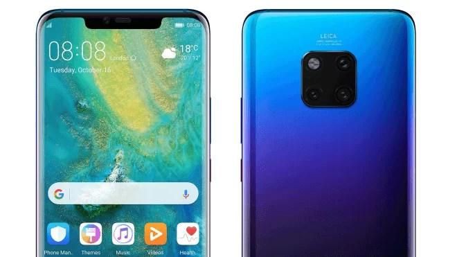 Huawei Mate 20 Pro é Oficialmente Extraordinário. Especificações completas, preços e disponibilidade 3
