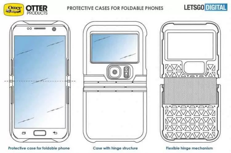 Já há capas para smartphones dobráveis! 1
