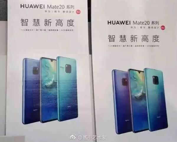 Poster da série Compania 20 da Huawei