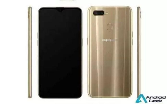 Oppo A7 Renders, especificações completas reveladas on-line, prevista para lançamento em 13 de novembro na China 1