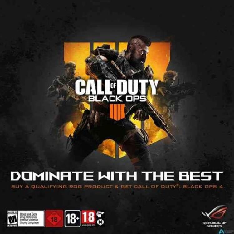 ASUS ROG anuncia parceria digital com a Activision para jogo Call of Duty: Black Ops 4 1