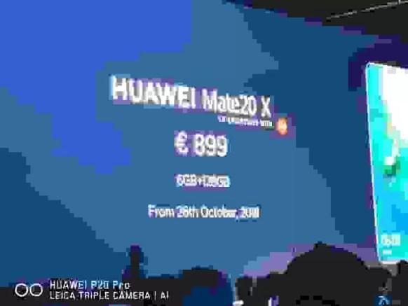 Huawei Mate 20 X É Oficial, enorme e deslumbrante! 4