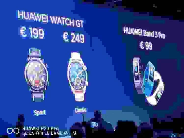 Huawei Watch GT oficialmente apresentado e é impressionante 5