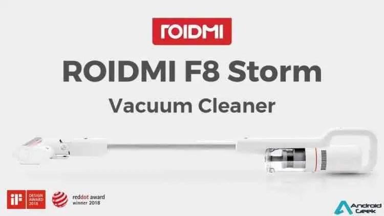 ROIDMI F8 Storm um novo e poderoso aspirador sem fios chega a Portugal 1