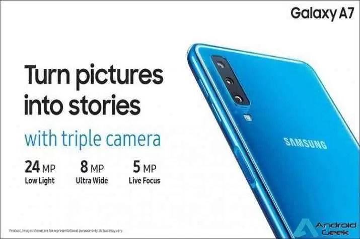 Samsung Galaxy A7 inicia campanha de pré-vendas 1