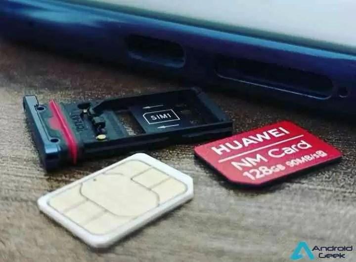 Huawei Mate 20 Pro tem memória expansível por meio de um inovador Nano Memory Card 1