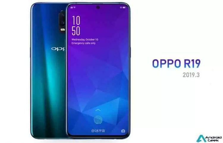 Suposto render do OPPO R19 mostra ecrã com entalhe e muito estilo 1