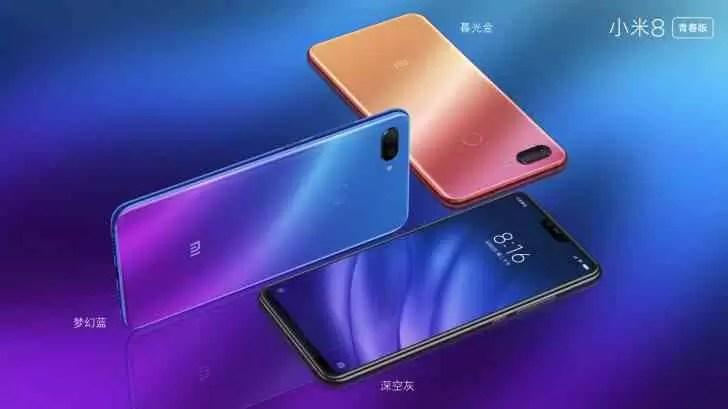 Xiaomi Mi 8 Lite começa o lançamento global, começando pela França e Ucrânia 1