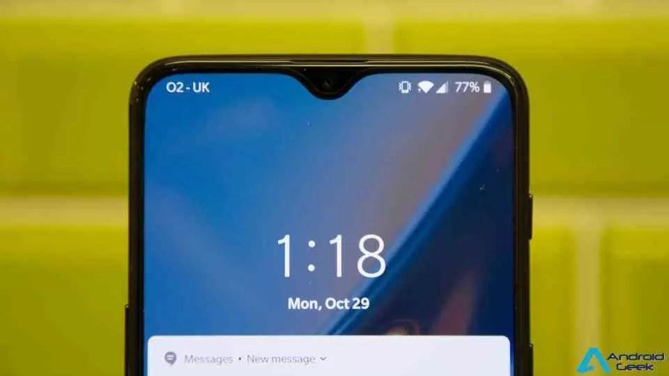 OnePlus 6T recebe OxygenOS 9.0.6 via OTA, mais velocidade de desbloqueio e muito mais 1