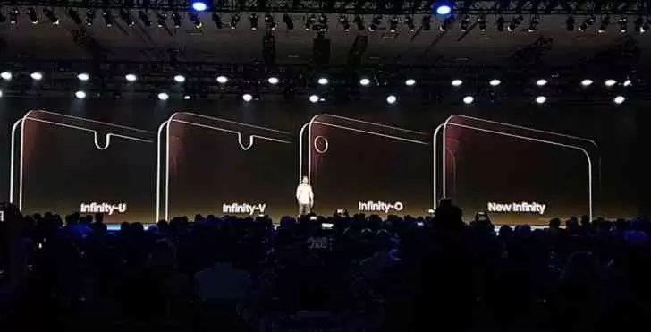 Nova fuga de informação mostra o vidro Infinity-O do Galaxy A8 e o seu buraco para a câmara selfie 1