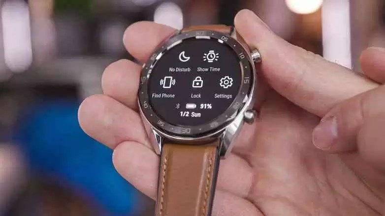 AndroidPIT huawei watch rs recursos