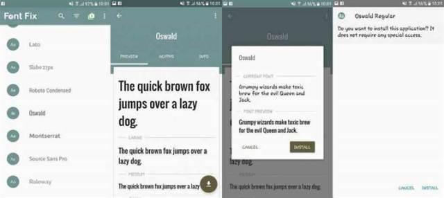 Como mudar a Font do seu telefone Android (sem root) 6