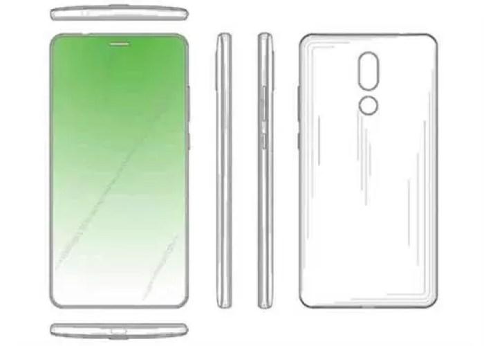 Patente da Huawei sob ecrã
