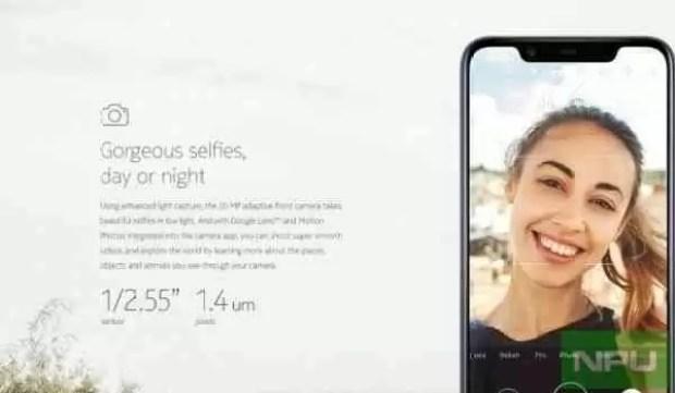 Imagens de marketing do Nokia 8.1 revelam design e folha de especificações 1