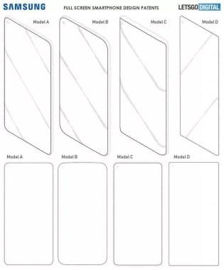Samsung Galaxy S10 tem design revelado na patente mais recente 1