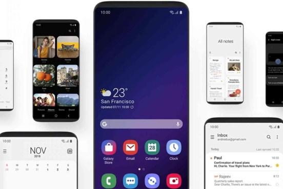 Afinal o Samsung Galaxy S8, S8 + e Note 8 podem vir a ter a OneUI 1