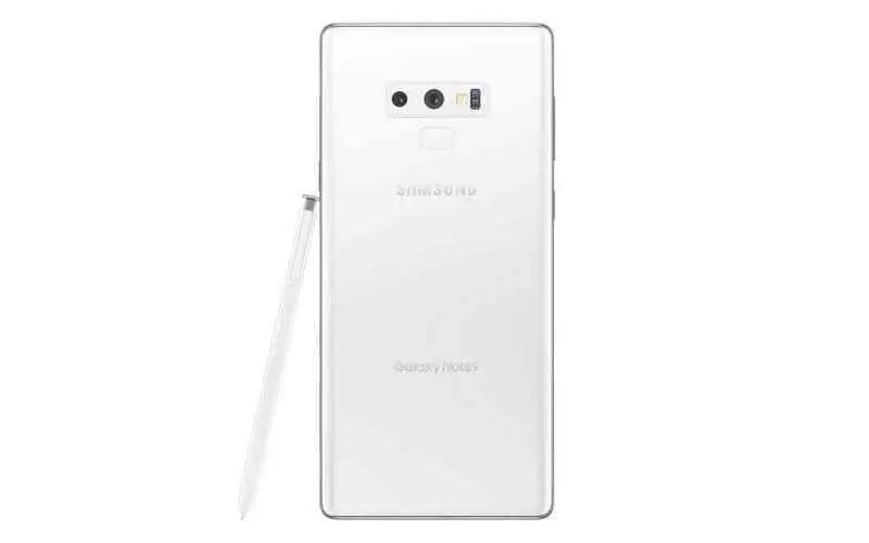 Samsung Galaxy Note 9 Branco Puro