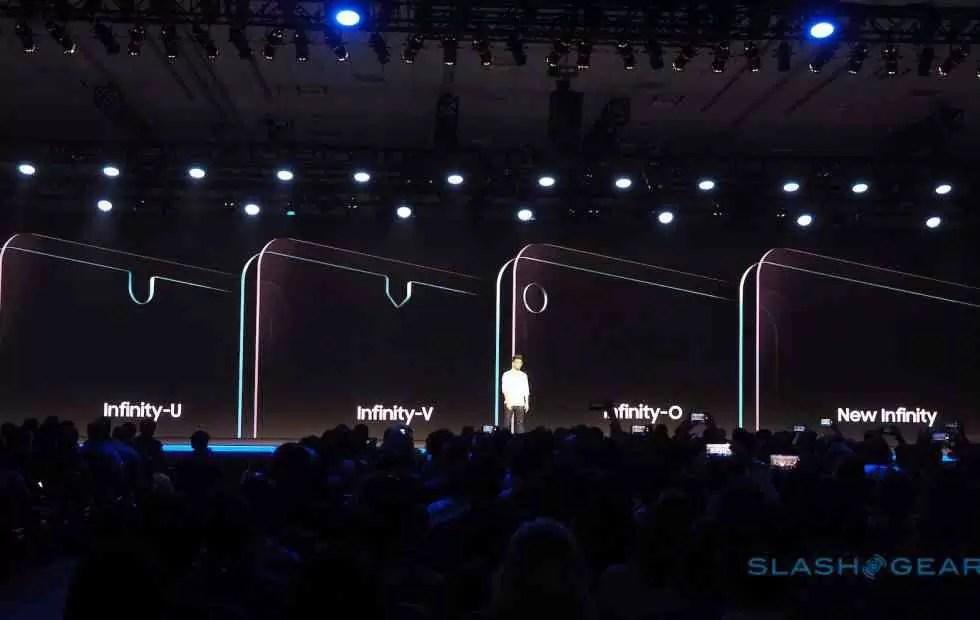 Samsung Infinity Displays