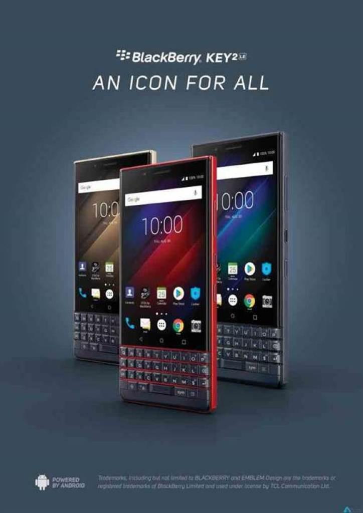 BlackBerry KEY2 LE Atomic disponível para pré-encomenda a partir de hoje 2