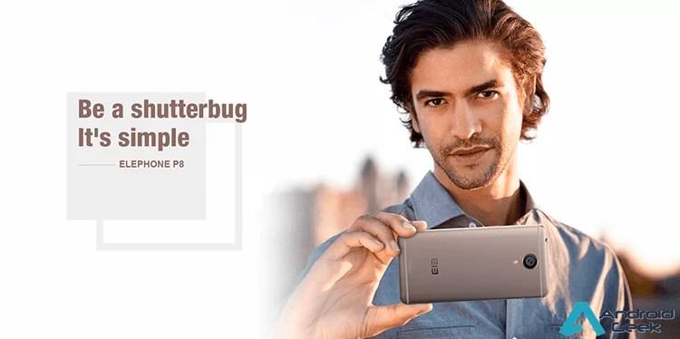 Elephone P8 aparece mais uma vez com grandes especificações e preço mini 1