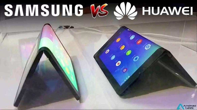 Telefone dobrável da Huawei terá ecrã maior do que o Samsung 1